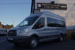 2016 16 Ford Transit T460 125 Trend 17 Seat Minibus - PSV With CCTV 5 Doors Minibus