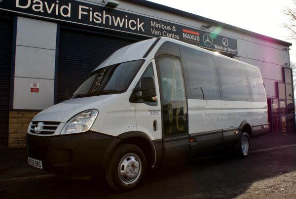2008 (08) Iveco Daily 50C15 IRIS BUS Wheelchair Accessible 17 Seat Minicoach For Sale In Colne, Lancashire