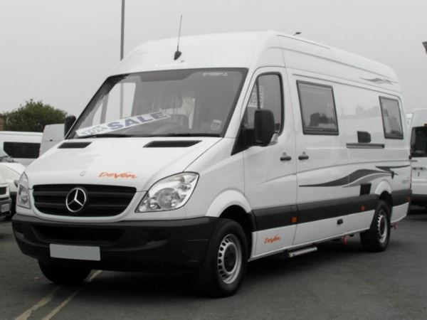 Used mercedes benz sprinter custom built motorhome fixed for Custom mercedes benz for sale