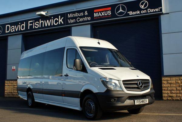 Mercedes-Benz Sprinter 516 CDi 20 Seat Minicoach For Sale In Colne, Lancashire