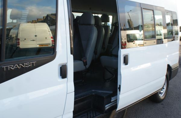 2006 (56) Ford Transit 100 T350 15 Seat Minibus For Sale In Colne, Lancashire