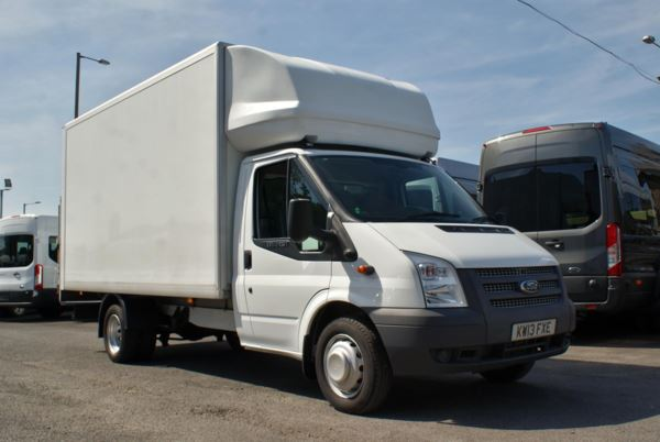 2013 (13) Ford Transit T350 L4 125 Luton With Tail Lift For Sale In Colne, Lancashire