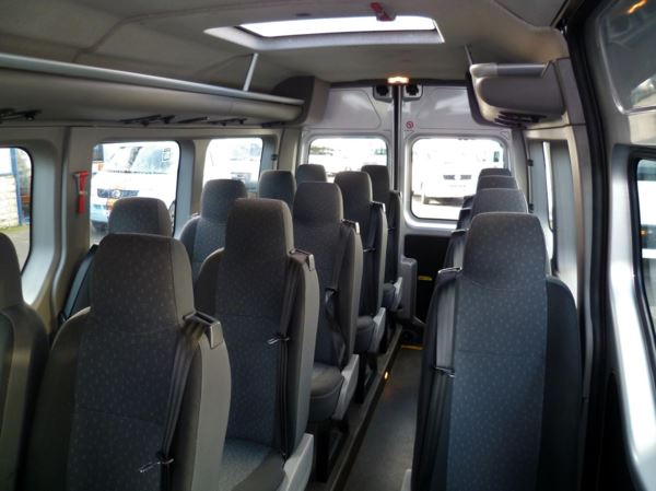 2012 (12) Vauxhall Movano 3900 CDTI 125 17 Seat Minibus For Sale In Colne, Lancashire