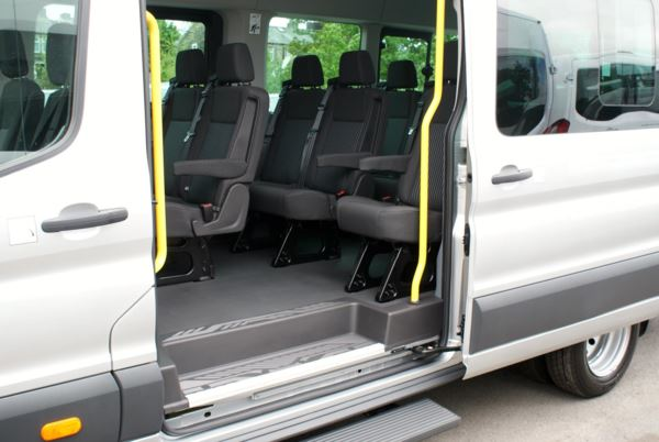 2015 (64) Ford Transit T460 125 Trend 17 Seat Minibus For Sale In Colne, Lancashire