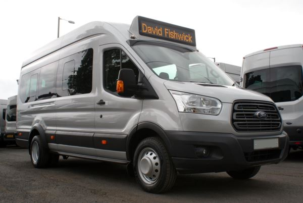 Ford Transit T460 125 Trend 17 Seat Service Bus Conversion For Sale In Colne, Lancashire