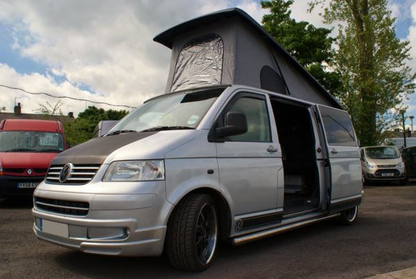 2008 (58) Volkswagen Transporter T5 2.5TDI PD130 Camper Van For Sale In Colne, Lancashire