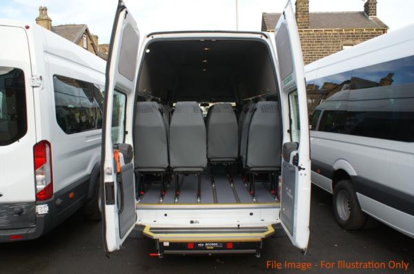 2010 (60) Ford Transit 115 T430 17 Seat Wheelchair Accessible Minibus For Sale In Colne, Lancashire