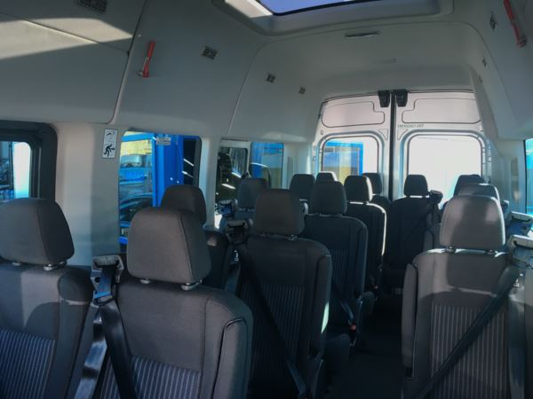 2015 (15) Ford Transit T460 125 Trend 17 Seat Minibus For Sale In Colne, Lancashire