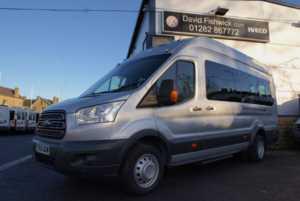 2015 65 Ford Transit T460 125 Trend 17 Seat Minibus 5 Doors Minibus