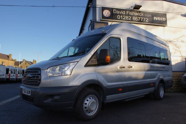 2015 (65) Ford Transit T460 125 Trend 17 Seat Minibus For Sale In Colne, Lancashire