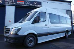 2015 65 Mercedes-Benz Sprinter 313 CDI 17 Seat Minicoach 4 Doors