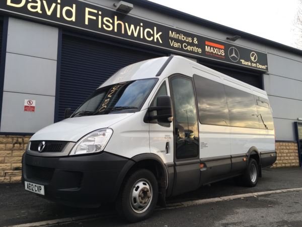 2012 (12) Iveco Daily 50C17 IRISBUS 17 Seat Minicoach With Power Door For Sale In Colne, Lancashire
