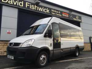 2012 12 Iveco Daily 50C17 IRISBUS 17 Seat Minicoach With Power Door 4 Doors Minibus