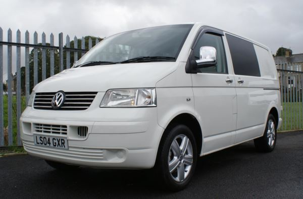 2004 (04) Volkswagen Transporter T28 1.9 PD85 SWB Day Van For Sale In Colne, Lancashire