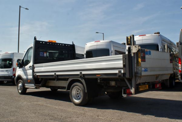 2015 (15) Ford Transit T350 L4 125ps Single Cab Dropside With Tail Lift For Sale In Colne, Lancashire