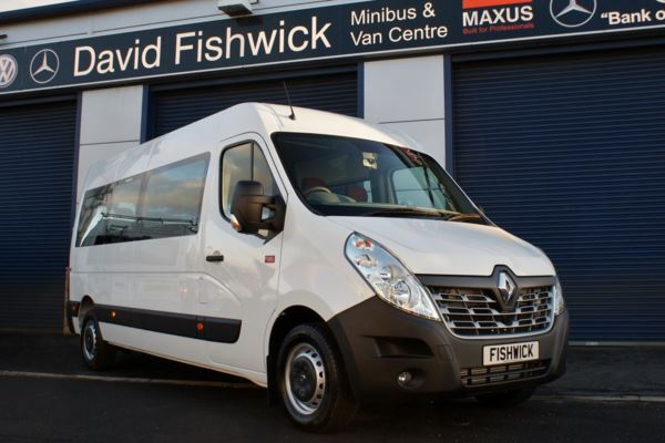 Renault Master DCi 145 Energy 17 Seat Minibus For Sale In Colne, Lancashire