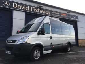 2011 61 Iveco DAILY 45C18 17 Seat Luxury Minicoach 5 Doors Minibus