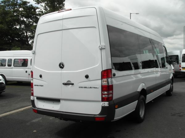 New mercedes benz sprinter 516 cdi blueefficiency 17 seat for Mercedes benz seats for sale