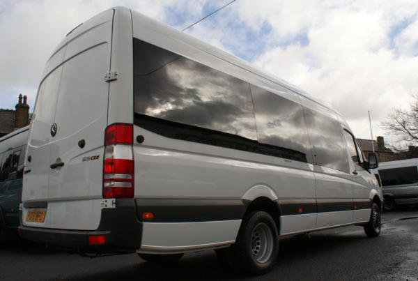 2013 (13) Mercedes-Benz Sprinter 516 CDi blueEFFICIENCY 17 Seat Minicoach For Sale In Colne, Lancashire
