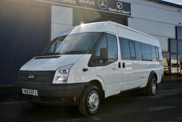 2013 (63) Ford Transit T430 135 17 Seat Minibus For Sale In Colne, Lancashire
