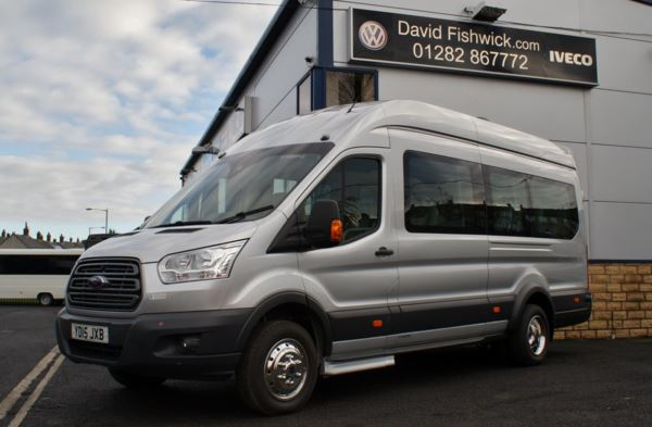 Ford Transit T460 125 17 Seat Minicoach For Sale In Colne, Lancashire