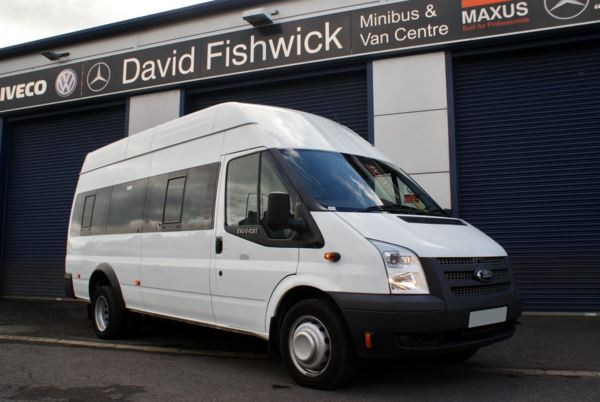 2012 (12) Ford Transit T430 135 High Roof 17 Seat Minibus For Sale In Colne, Lancashire