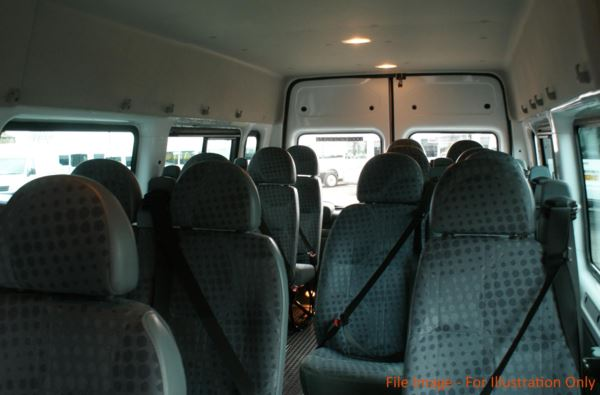2014 (14) Ford Transit T430 135 17 Seat Minibus For Sale In Colne, Lancashire