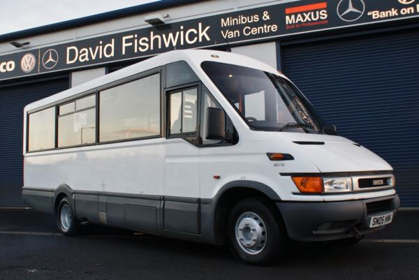 2005 (05) Iveco Daily 65C15 Mellor Wheelchair Accessible 23 Seat Service Bus For Sale In Colne, Lancashire