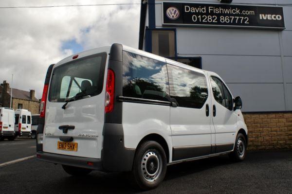 2013 (13) Vauxhall Vivaro CDTi 90 Ecoflex 9 Seat Minibus For Sale In Colne, Lancashire