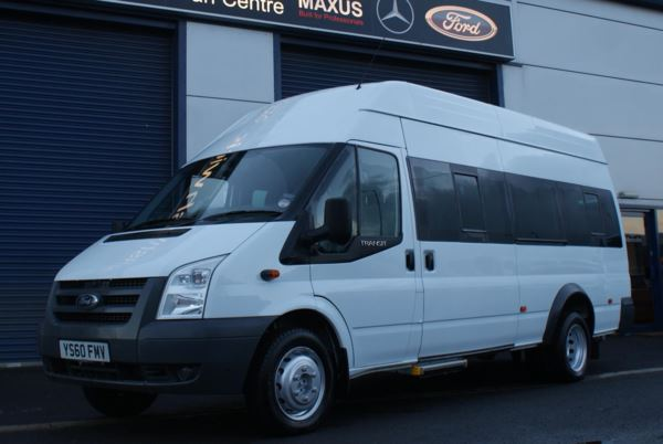 2011 (60) Ford Transit 100 T430 17 Seat Wheelchair Accessible Minibus Conversion For Sale In Colne, Lancashire