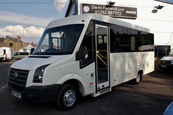 2007 (57) Volkswagen Crafter UV Modular CR50 136 17 Seat Wheelchair Accessible Bus For Sale In Colne, Lancashire