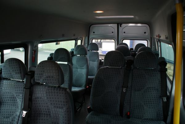 2013 (63) Ford Transit T350 135 14 Seat Minibus For Sale In Colne, Lancashire