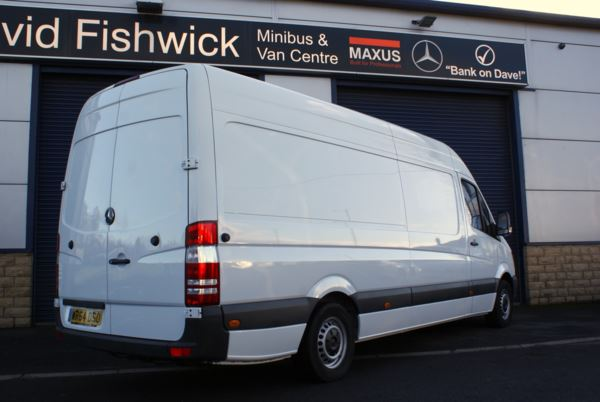 2014 (64) Mercedes-Benz Sprinter 313 CDi LWB High Roof Panel Van For Sale In Colne, Lancashire