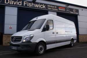 2014 64 Mercedes-Benz Sprinter 313 CDi LWB High Roof Panel Van 5 Doors Panel Van