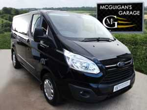 2017 (66) Ford Transit Custom 270, TREND, 125PS, L1 / SHORT WHEEL BASE, LED LIGHTS & POWER CONVERTER For Sale In Swatragh, County Derry
