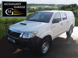 2015 (15) Toyota Hilux Active , D-4D 144 , 4x4 , Canopy & Liner For Sale In Swatragh, County Derry