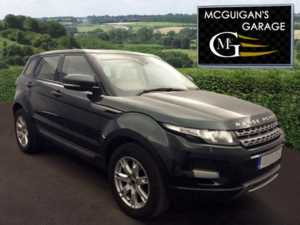 2012 (61) Land Rover Range Rover Evoque 2.2 SD4 190 , Pure , Auto , Full Leather For Sale In Swatragh, County Derry