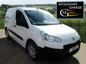 2015 (15) Peugeot Partner HDi 92bhp , L1 850kg Professional (3 seat) Ply Lined For Sale In Swatragh, County Derry