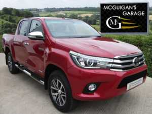 2018 (18) Toyota Hilux INVINCIBLE D-4D 4WD , 6 SPEED MANUAL For Sale In Swatragh, County Derry