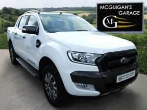 2017 (17) Ford Ranger WILDTRAK , 3.2 TDCi 200ps , AUTO , 4x4 For Sale In Swatragh, County Derry