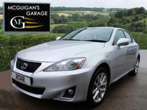 2012 (12) Lexus IS 200d Advance , Leather , Sat Nav , Reverse Camera , Park Sensors For Sale In Swatragh, County Derry