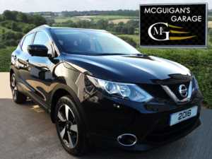 2016 (16) Nissan Qashqai 1.5 dCi N-Connecta , Panoramic Roof , Sat Nav , Reverse Camera For Sale In Swatragh, County Derry