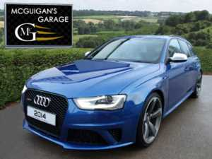 2014 (14) Audi RS4 4.2 FSI 450bhp , Quattro , S Tronic , 0-60mph in 4.7 seconds approx For Sale In Swatragh, County Derry