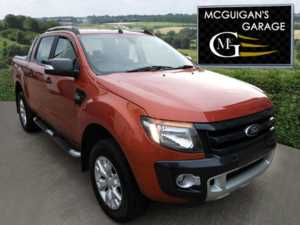 2014 (64) Ford Ranger Wildtrak 3.2 TDCi 200, AUTO , Mountain Top and Tow Bar For Sale In Swatragh, County Derry