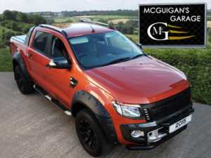 2015 Ford Ranger Wildtrak 3.2 TDCi 200, Auto, Flare Arch Kit, Rhino Alloys, Mountain Top For Sale In Swatragh, County Derry