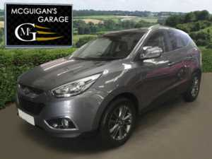 2015 (15) Hyundai Ix35 1.7 CRDi SE , 2WD , Half Leather , Park Sensors For Sale In Swatragh, County Derry