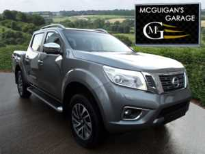 2017 (17) Nissan Navara Tekna , 2.3dCi 190 , 4WD , Sat Nav , Leather , Reverse Camera For Sale In Swatragh, County Derry