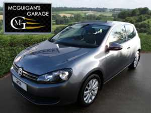2011 (11) Volkswagen Golf 1.6 TDi 105 BlueMotion Tech , Match 3dr For Sale In Swatragh, County Derry