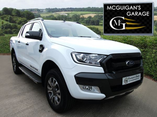 used ford ranger wildtrak 3 2 tdci 200ps auto 4x4 double cab pick up for sale in swatragh. Black Bedroom Furniture Sets. Home Design Ideas