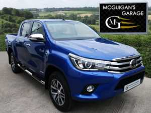 2018 (67) Toyota Hilux INVINCIBLE D-4D 4WD , 6 SPEED MANUAL For Sale In Swatragh, County Derry